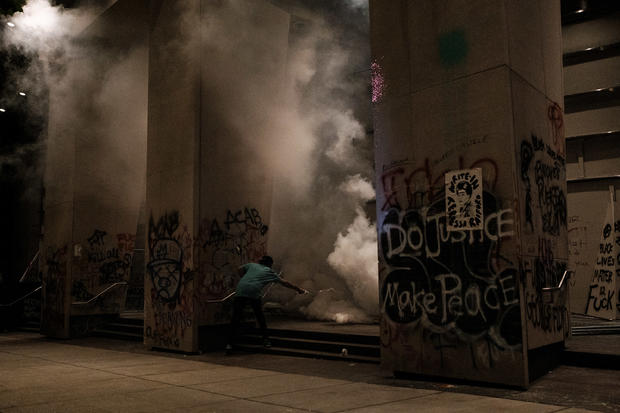 Tear gas and pepper spray: what do protesters need to know?